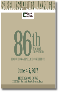 2017 Seeds of Change Convention Agenda