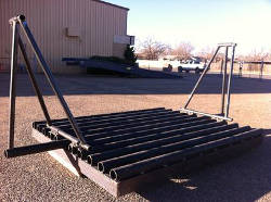 L T Kincer winged cattle guard